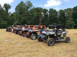 sandstone utv race lineup