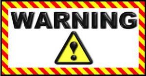 warning 094999