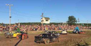 Hemlock county figure 8 racing