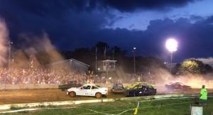 clarke county fair racing