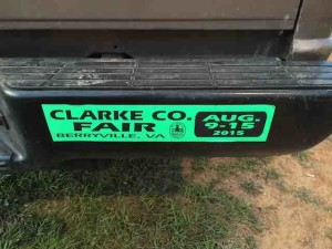 clarke county sign