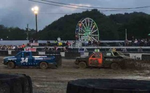 tazewell county fair racing in mud