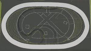 Irwindale Speedway aerial layout