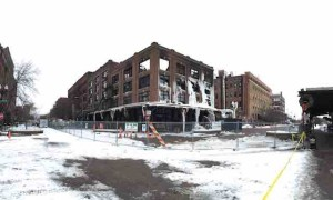 burned out building downtown omaha