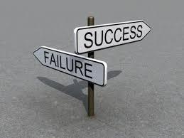chances failure success