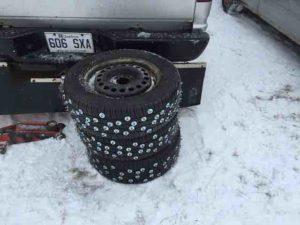 dupuy ice race tires