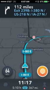 gps driving distance 23