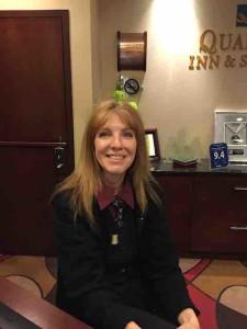 joyce hotel clerk