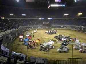There were about 90 microsprints racing today from 26 different states.