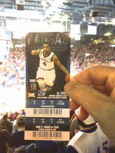 ku basketball ticket