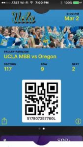 ucla electronic ticket