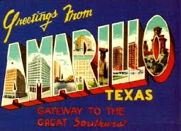 Amarillo post card