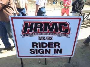 Horn Rapids sign
