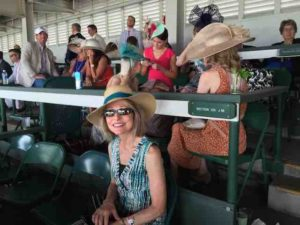 carol at kentucky derby 3