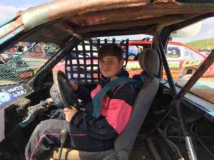 Trent raceway young driver