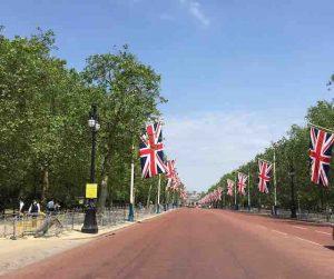 british flags london