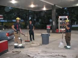 gas spill