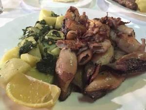 grilled calamari belgrade