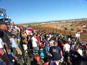 firebird packed grandstands