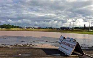 eagle-river-flooded-parking-area