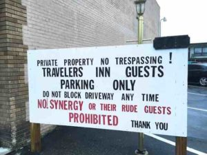 parking-lot-sign-rude-guests
