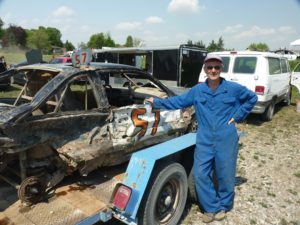 This is Mr. Peter Becker my all-time favorite figure 8 driver.