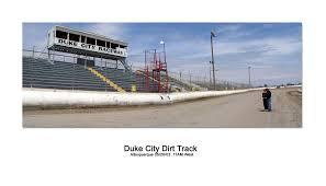duke city raceway front stretch