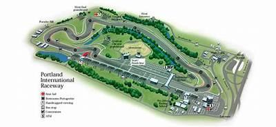 Portland International Raceway – with chicane
